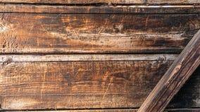 Textuur van zwarte geschroeide ebbehouten omheining stock afbeelding