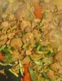 Textuur - vegetarisch voedsel Stock Fotografie