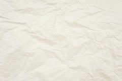 Textuur verfrommelde document achtergrond, abstract behang Stock Afbeeldingen