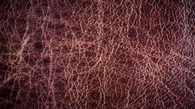Textuurachtergrond van de dichte omhooggaande luxe van de detail donkere bruine huid Stock Fotografie