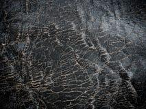 Textuurachtergrond van dichte omhooggaande detail donkere zwart-witte suf Stock Foto's