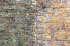 Textuurachtergrond van oud geschilderd triplex voor model of ontwerppatroon in bouw, voedsel of industriële vlakke laag van stock foto