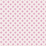 Textuurdruk en wale van stof in mooi bloemenpatroon Stock Foto