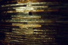 Textuurglas mozaïek De samenstelling van het glas stock foto's