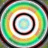 Textuurhemel met meer kleur vector illustratie