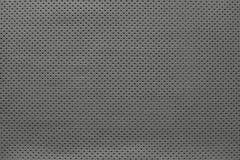 Textuurleer van grijze kleur met buitenkant Royalty-vrije Stock Afbeelding