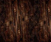 Textuurpaneel van raad, donkere bruin Royalty-vrije Stock Afbeeldingen