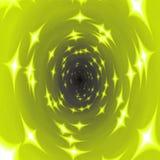Textuursterren in geel stock illustratie