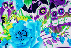 Textuurstof Stock Foto