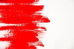 Textuurverf op witte achtergrond Selectieve nadruk stock foto