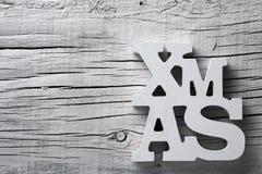 Textxmas, förkortning för jul Arkivfoton