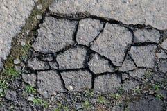 Textyre envejecido del fondo del asfalto Fotos de archivo