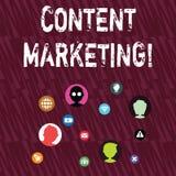 Textzeichen, das zufriedenes Marketing zeigt Begriffsfoto bezieht Schaffung und das Teilen der materiellen on-line-Vernetzung mit vektor abbildung