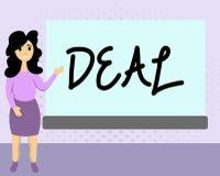 Textzeichen-Vertretung Abkommen Begriffsfoto Vereinbarung nahm an durch zwei teil oder mehr Parteien für ihren beiderseitigen Nut lizenzfreie abbildung