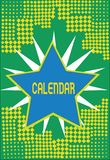 Textzeichen-Vertretung Kalender Begriffsfoto paginiert das Zeigen von Tageswochenmonaten bestimmter Jahr Anzeige vektor abbildung