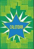 Textzeichen-Vertretung Kalender Begriffsfoto paginiert das Zeigen von Tageswochenmonaten bestimmter Jahr Anzeige stock abbildung