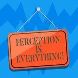 Textzeichen-Vertretung Vorstellung ist alles Begriffsfoto, wie wir Ausfall oder Niederlage identifizieren, macht Unterschied frei stock abbildung