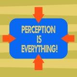 Textzeichen-Vertretung Vorstellung ist alles Begriffsfoto, wie wir Ausfall oder Niederlage identifizieren, macht Unterschied Pfei vektor abbildung
