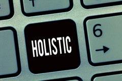 Textzeichendarstellen holistisch Begriffsfoto kennzeichnete Glauben, der Teile etwas vertraut untereinander verbunden lizenzfreie stockfotos
