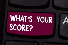 Textzeichendarstellen, was S Ihr Scorequestion ist Begriffsfoto, das nach dem Sachverhalt einer Situation Taste Absicht fragt vektor abbildung