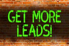 Textzeichenvertretung erhalten mehr Führungen E lizenzfreies stockbild