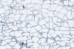 Texure сломленного защитного стекла Стоковое Изображение RF