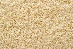 Texure beige del tappeto come fondo Fotografie Stock