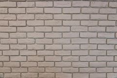 Texure branco do fundo da parede de tijolo foto de stock