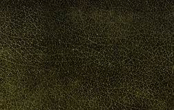 Texure of old black leather Royalty Free Stock Photo