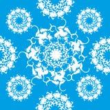 Texure senza cuciture del fiocco di neve Fotografia Stock
