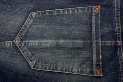 Texure van de jeans. Stock Foto's