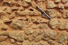 Texure van een oude steenmuur Stock Fotografie