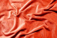 Texure vermelho do fundo de veludo fotos de stock royalty free