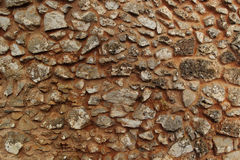 Texures of an old stone wall Royalty Free Stock Photo