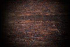Texutre en bois foncé photographie stock libre de droits