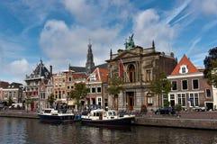 Teylers museum i Haarlem Arkivfoton
