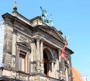 Teylers museum i Haarlem, Nederländerna Arkivfoto