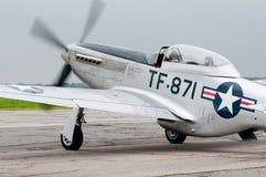 TF-51D μαχητής Στοκ Εικόνες