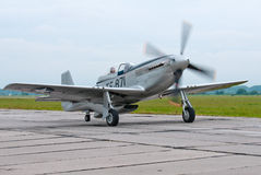 TF-51D fighter Stock Image