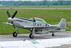 TF-51D fighter Stock Images
