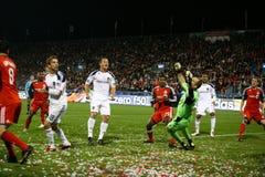 TFC contra o futebol da galáxia MLS do LA Imagem de Stock