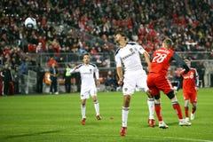TFC contra o futebol da galáxia MLS do LA Foto de Stock