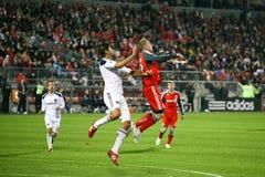 TFC contra o futebol da galáxia MLS do LA Imagem de Stock Royalty Free