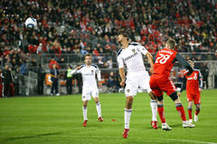 TFC contre le football de la galaxie MLS de LA Photo stock