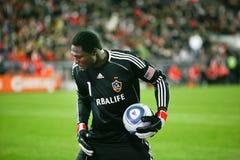 TFC gegen Fußball Donovan Ricketts der LA Galaxie-MLS Stockfotografie