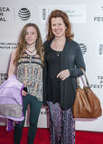 TFF 2016 All We Had. New York, NY, USA - April 15, 2016: Actress Siobhan Fallon Hogan and daughter attends the 'All We Had' premiere during the 2016 Tribeca Film Stock Photography