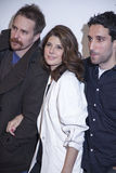 TFF 2014. New York, NY, USA - April 18, 2014: Sam Rockwell, Marisa Tomei and Michael Godere attend the 2014 Tribeca Film Festival Word Premiere Narrative: ' royalty free stock image