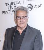 TFF 2017 - Tribeca Talks: Director`s Series:Noah Baumbach. NEW YORK, NY , USA - APRIL 24: Actor Dustin Hoffman attends Tribeca Talks: Director`s Series: Noah stock photos