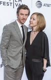 TFF 2017 World Premiere `Permission`. NEW YORK, NY , USA - APRIL 22: Actor Don Stevens and guest attend World Premiere 'Permission' during the 2017 Tribeca Stock Images