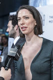 TFF 2017 World Premiere `Permission`. NEW YORK, NY , USA - APRIL 22: Actress Rebecca Hall attends World Premiere 'Permission' during the 2017 Tribeca Film Royalty Free Stock Image